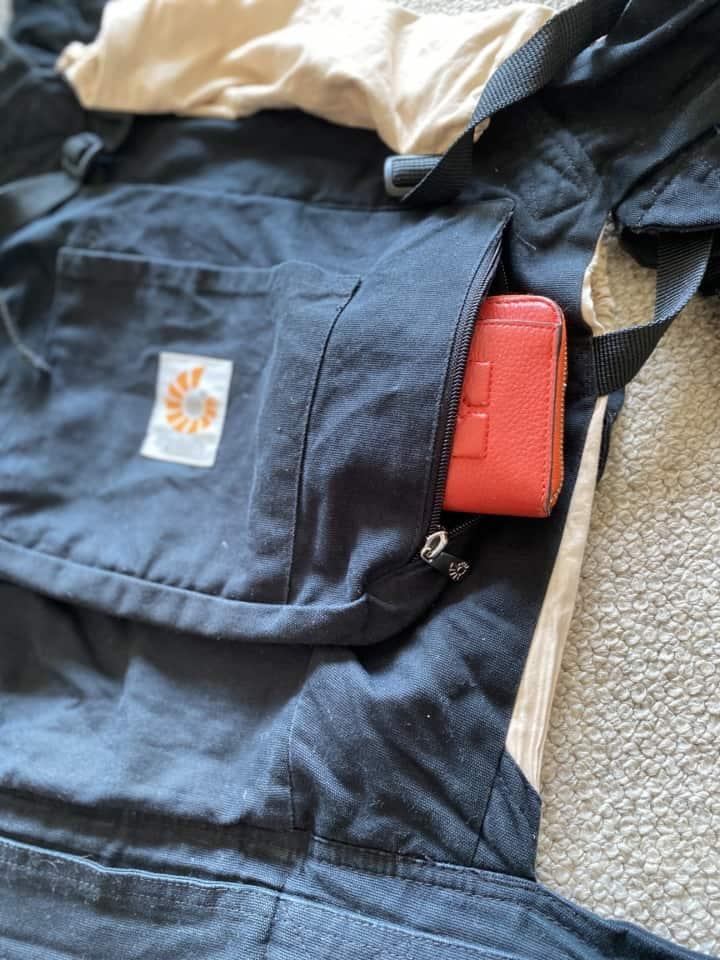 エルゴベビー・オリジナルベビーキャリアの抱っこ紐ポケット