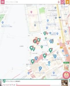 ママパパマップアプリ地図