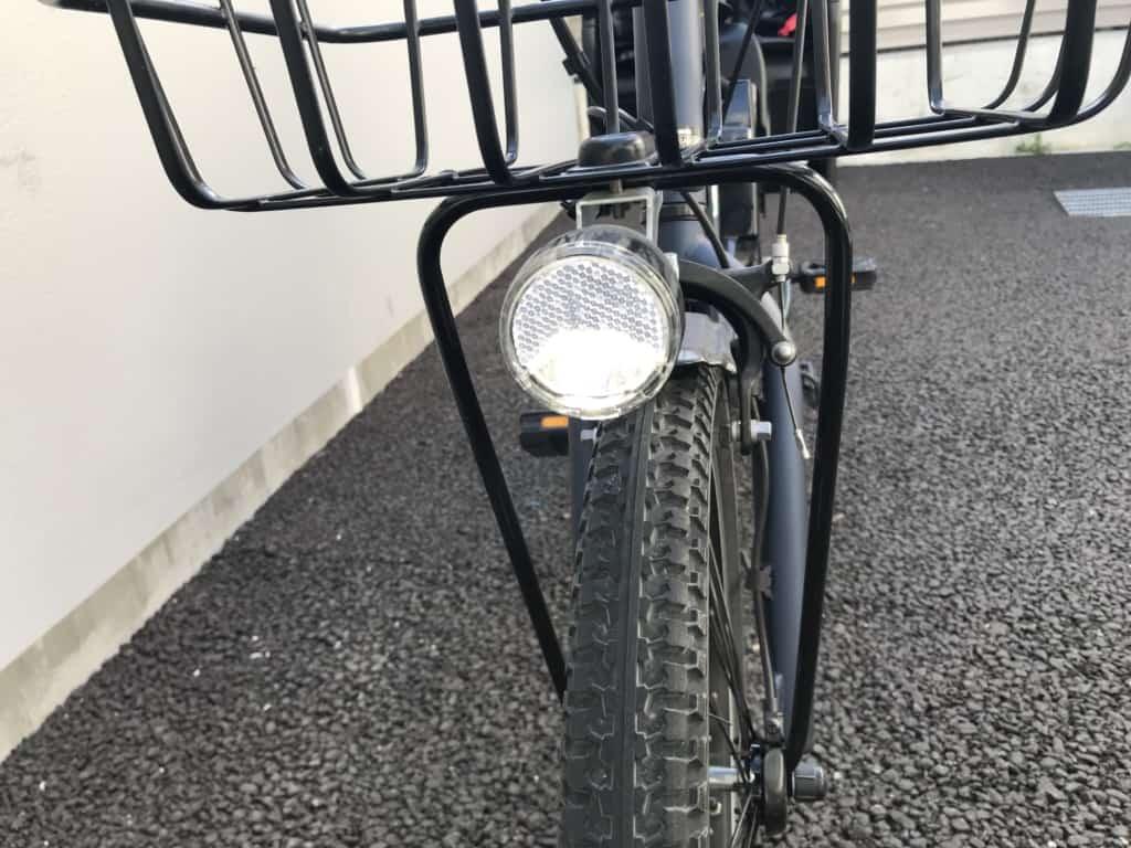 パナソニック電動自転車ギュットアニーズDX LEDライト