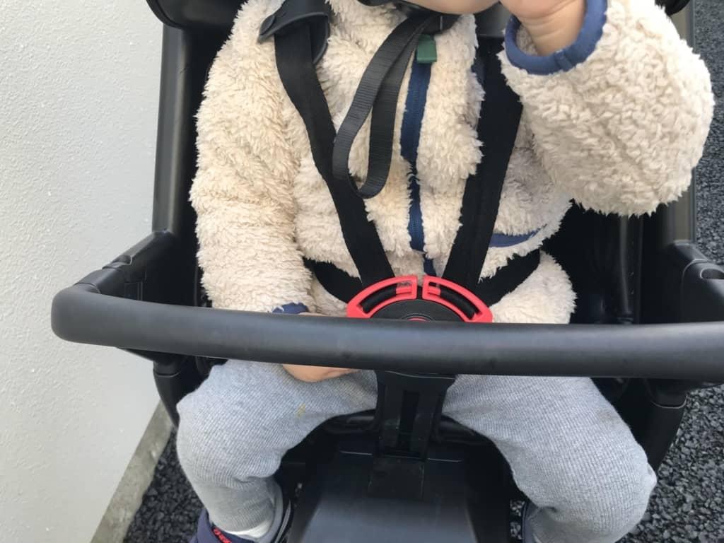 パナソニック電動自転車ギュットアニーズDX安全に子供を乗せれます