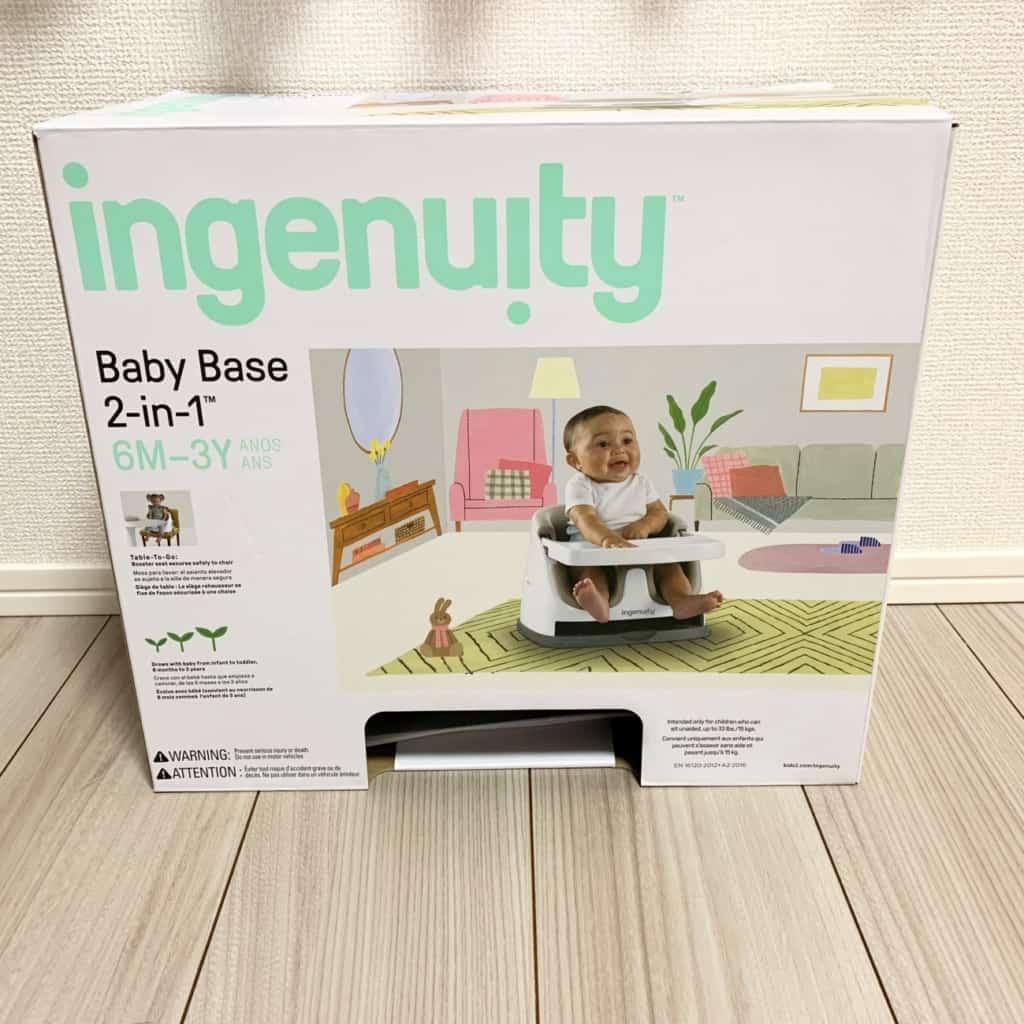 ingenuity(インジェニュイティ)箱の表