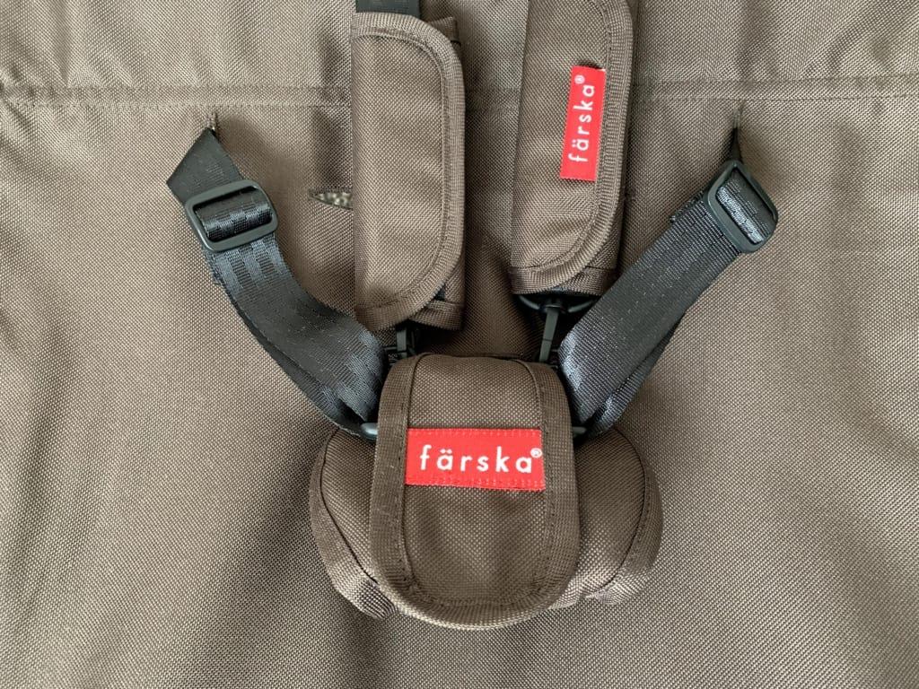 ファルスカスクロールチェア 安全ベルト