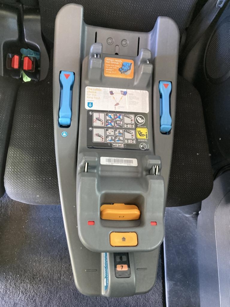 インファントカーシート用I-Base