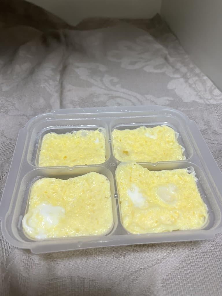 離乳食卵かけご飯
