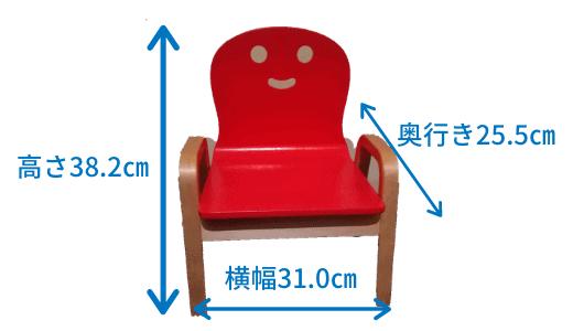 キコリの椅子サイズ