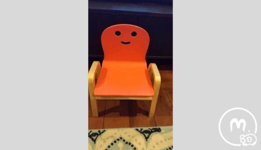 キコリの椅子全体