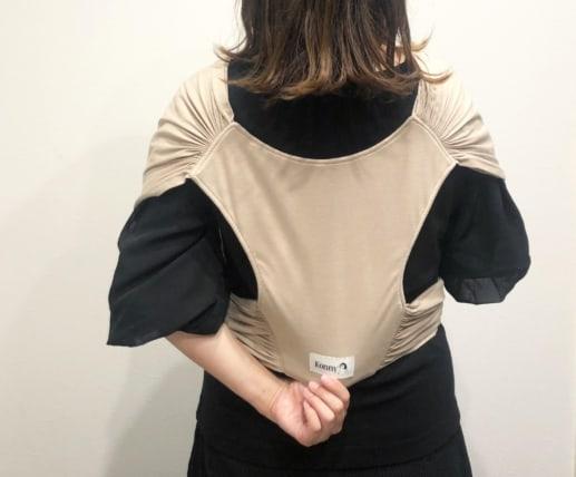コニー抱っこ紐装着の仕方